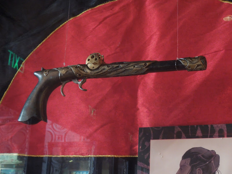 John Carter Zodangan pistol prop