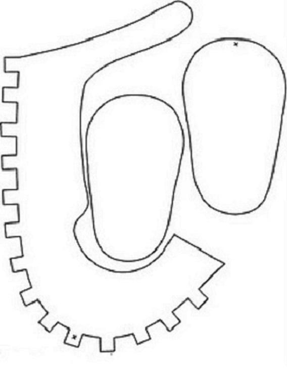 ronycreativa: Cómo hacer zapatitos de niña para Babyshower