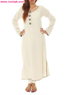 Latest Long Kurta Designs For Girls 2013