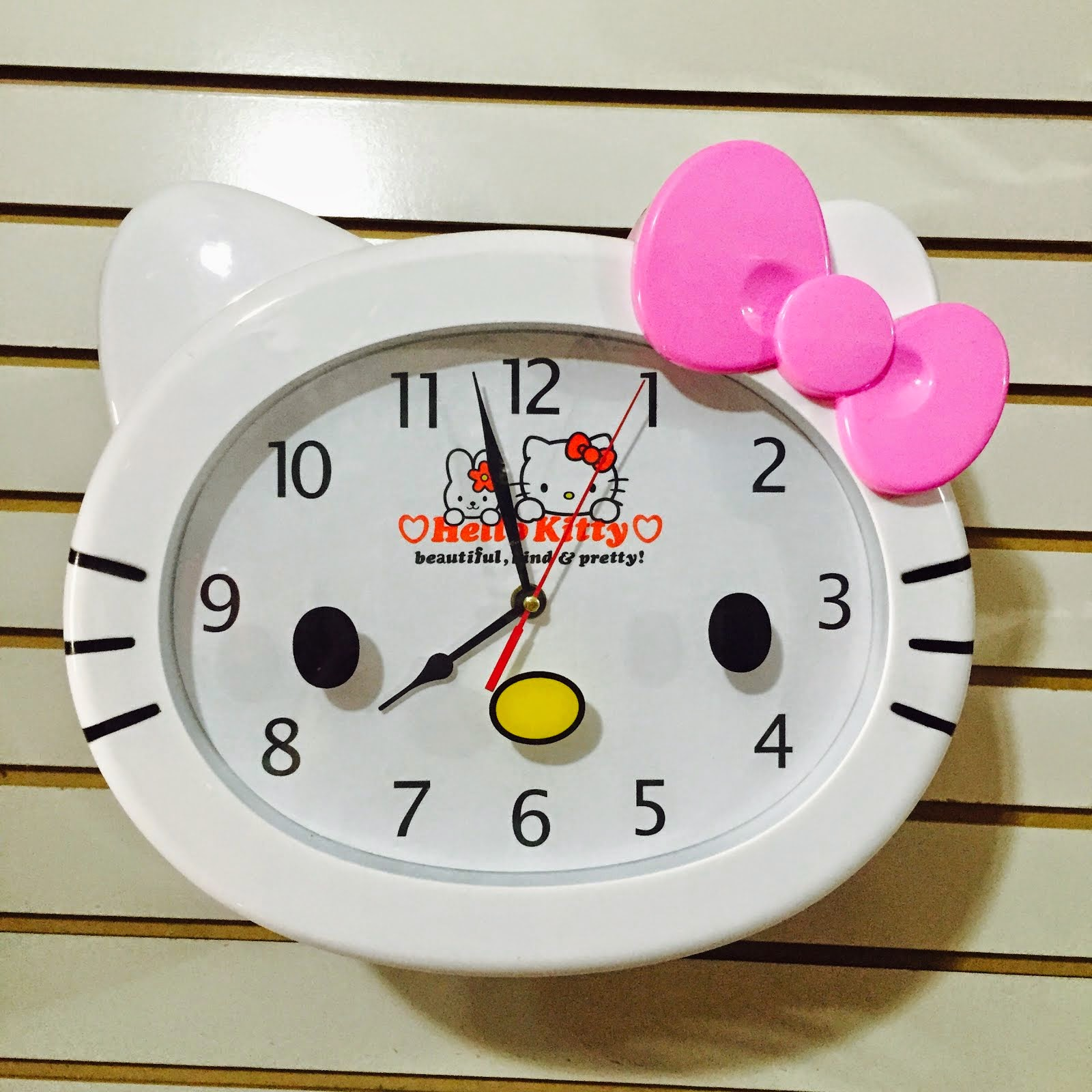 RELOJ DE PARED HELLO KITTY