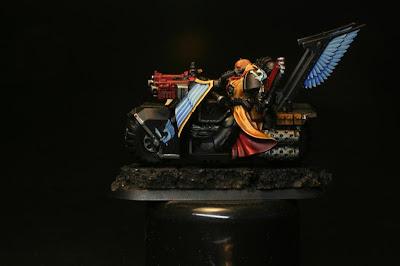 Guilliman Blue de Citadel Glade en los Motoristas del Ala de Muerte de los Ángeles Oscuros