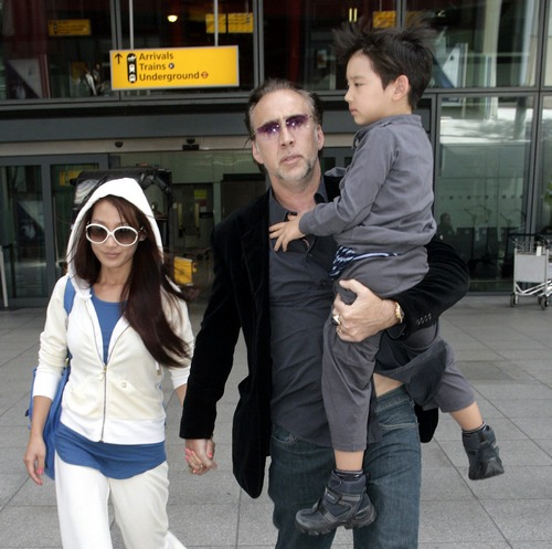 Hollywood All Stars Nicolas Cage Family Pics