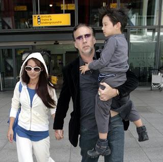 Nicolas Cage Family