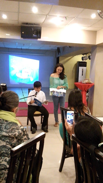 Book reading of The Legend of Juan Pawikan by Winston Cabiles, Jr. from The Voice Kids