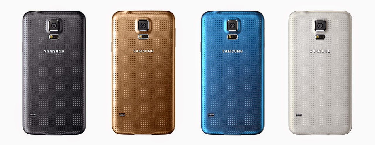 Samsung Galaxy S5 Smartphone colors