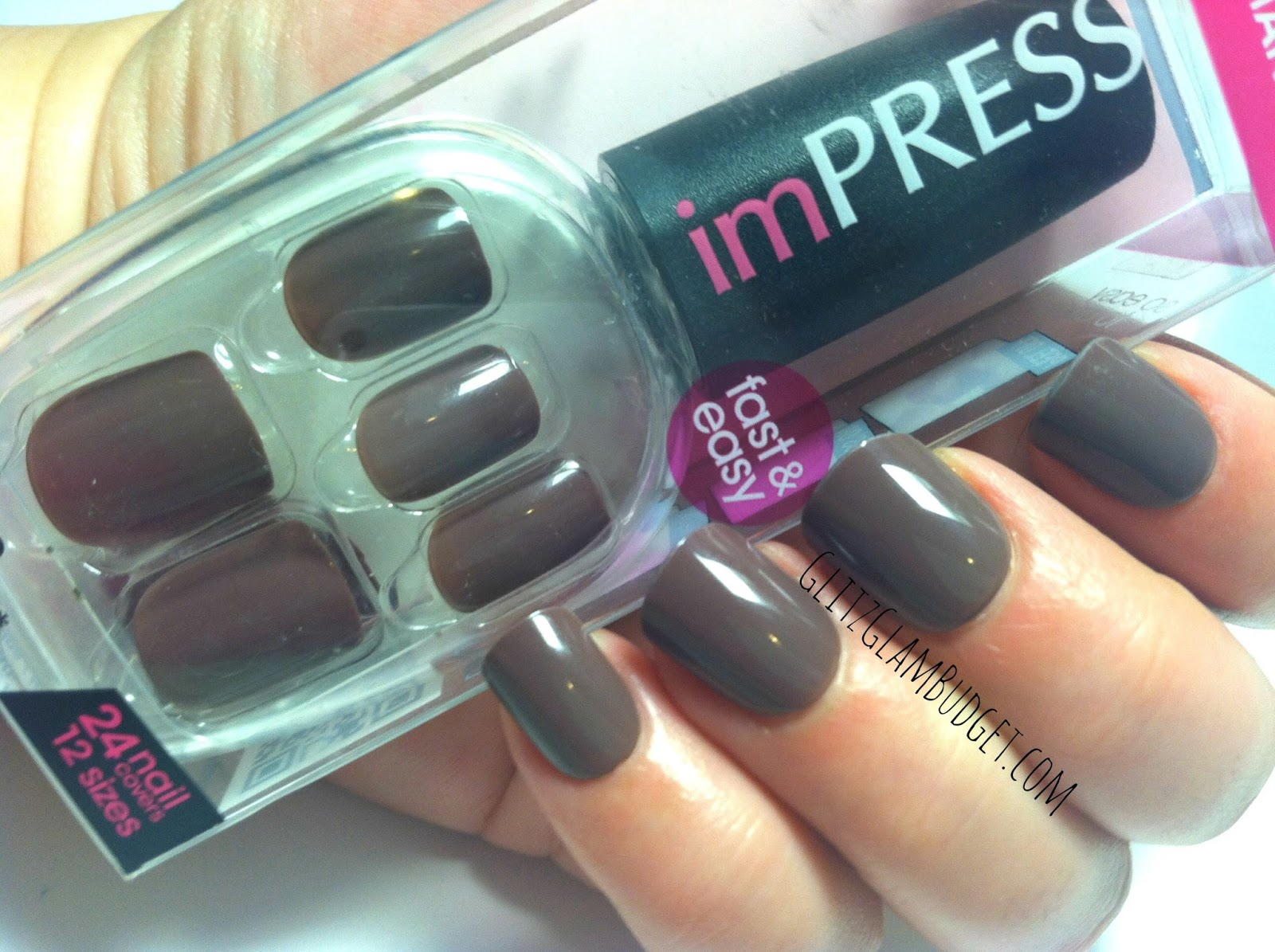 imPRESS Press On Manicure Nails in First Date