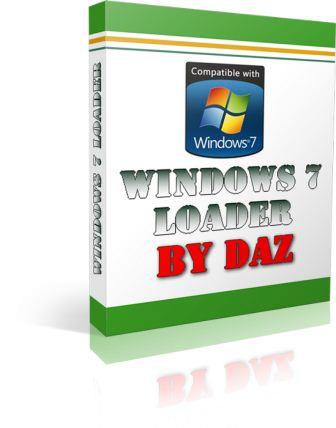 windows 7 loader by daz full activator v2.2.2