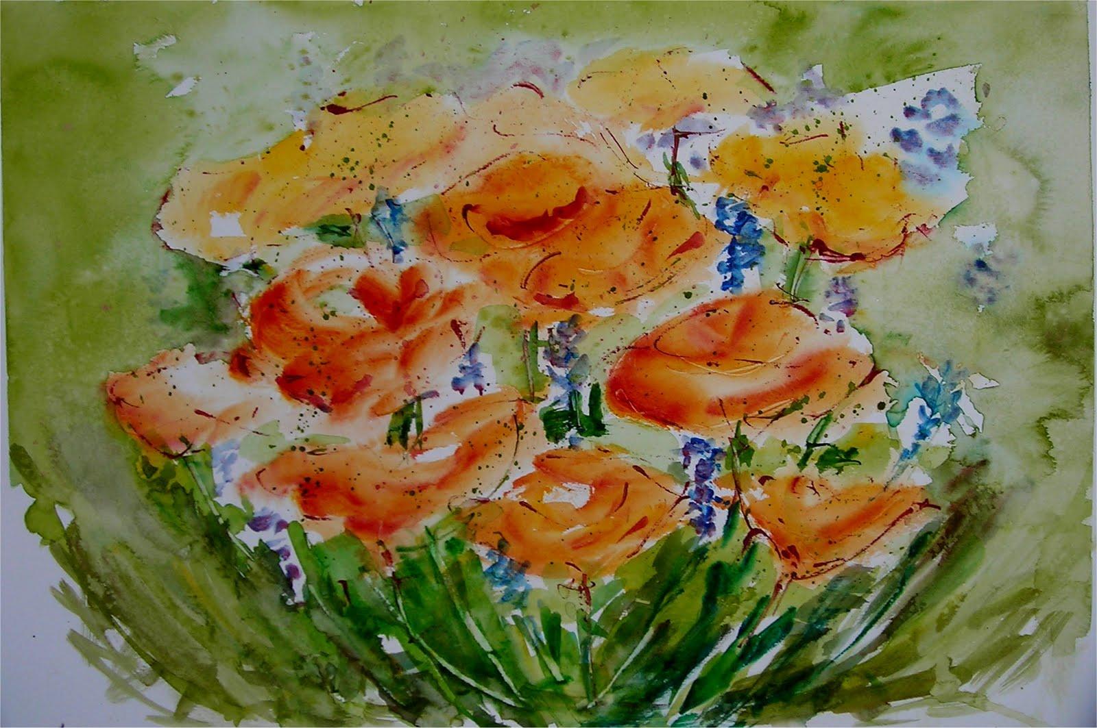 Acqua e colori fiori di primavera for Fiori di primavera