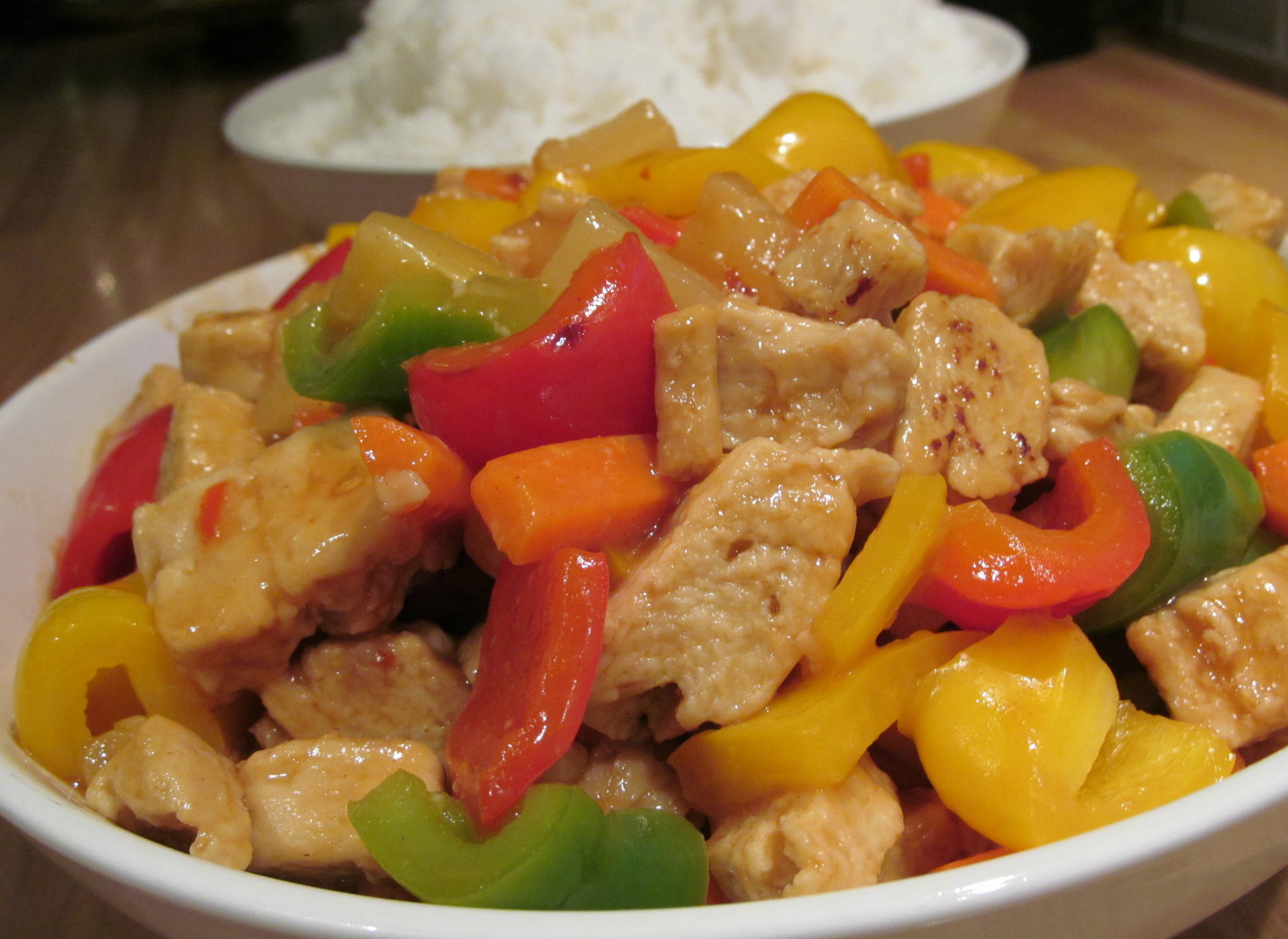 Good Food, Shared: Hairy Bikers Sweet and Sour Chicken (Lo Cal)