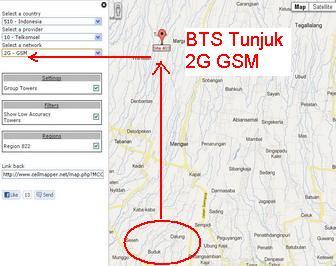 jangkauan Internet 3G HSDPA Bali