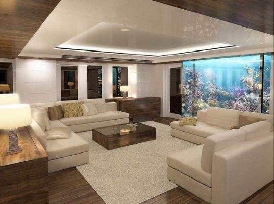 Viaggiando divani e poltrone a bordo di yacht e jet for Arredamento lussuoso