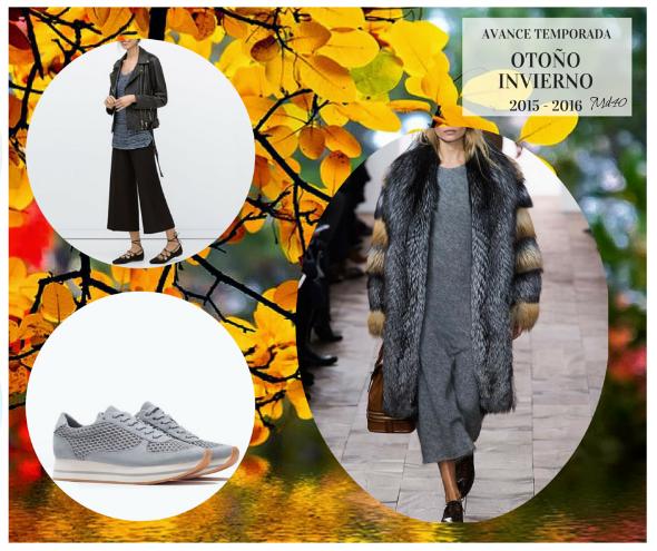 avance temporada moda otono invierno 2015 2016 abrigo pelo
