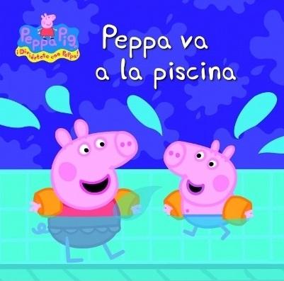 Ones de llibres peppa va a la piscina for Peppa pig en la piscina