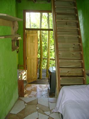 sala/cozinha cabana 6