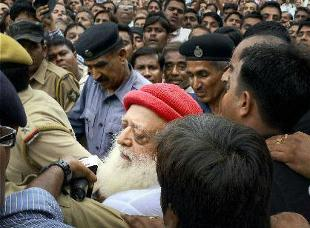 Mobile clip shows Asaram Bapu with a girl