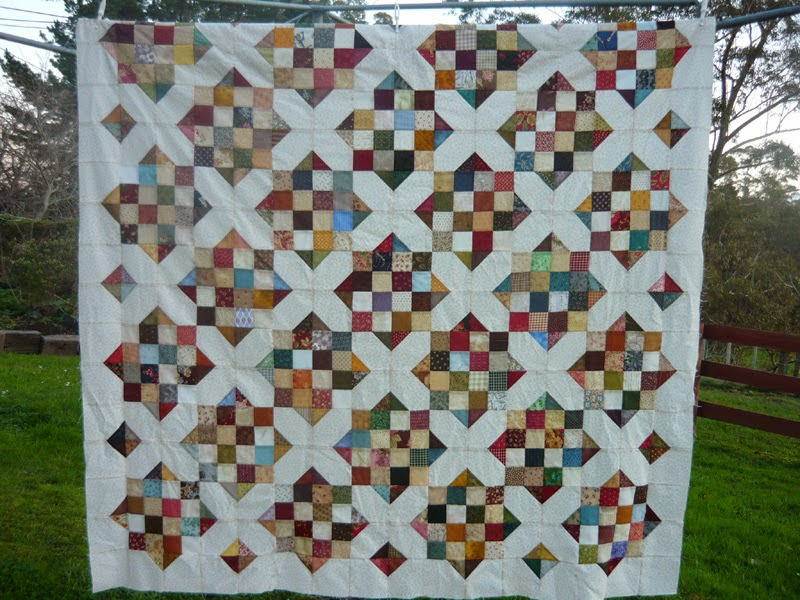 stitchingfarmgirl: A flimsy and a (short) tutorial : goodnight irene quilt - Adamdwight.com