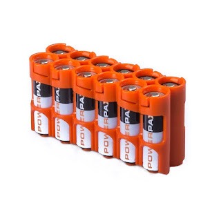 Storacell by Powerpax AA 12 Pack Battery Caddy