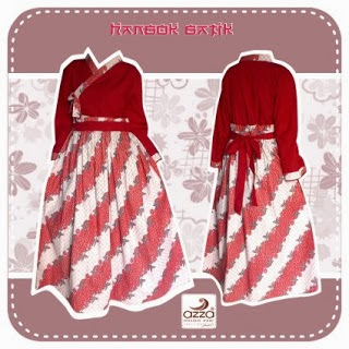 Gamis Hanbok  Red