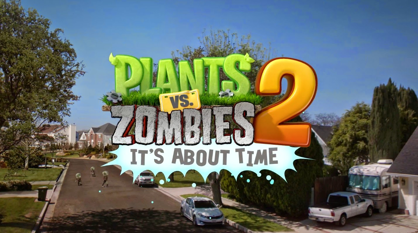 Plants vs Zombies 2 Apk Data Mod Unlimited Coin dan Key 2014