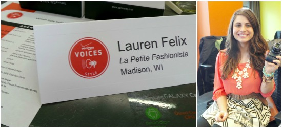 I'm a Verizon Voices Style Blogger! #vzwvoices