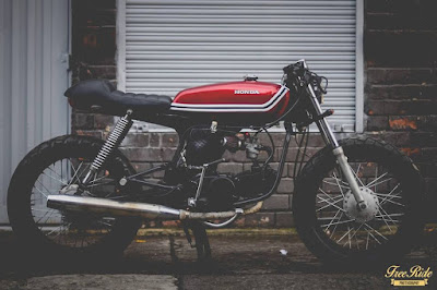 Honda Hero 100 Cafe Racer
