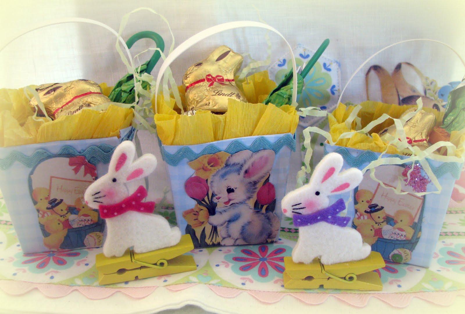 Musings from kim k easter basket fillers easter table - Easter basket decorating ideas ...