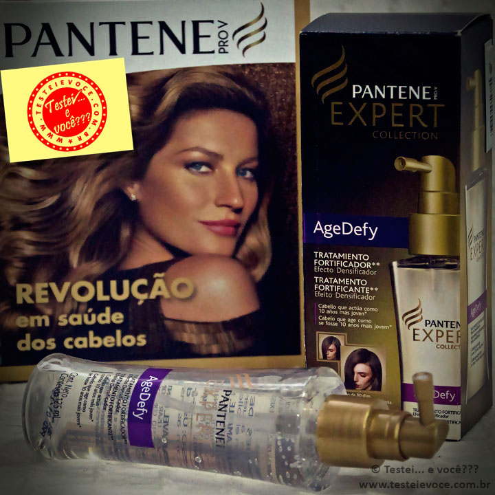 Tratamento Fortificante Age Defy – Pantene Expert Collection