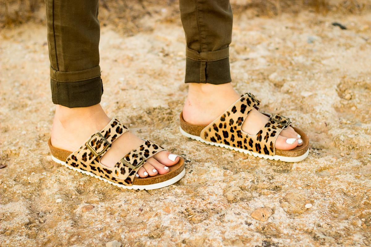 animal print ugly shoes