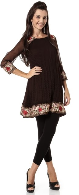 Fancy Kurtis Collection 2014-2015 | Latest Design of Kurti with Jeans - 19 December 2013 ...