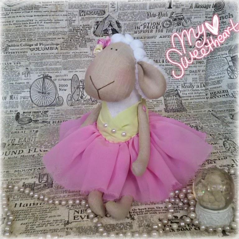 подарок девушке, подарок на новый 2015 год, талисман, купить овечку в одессе