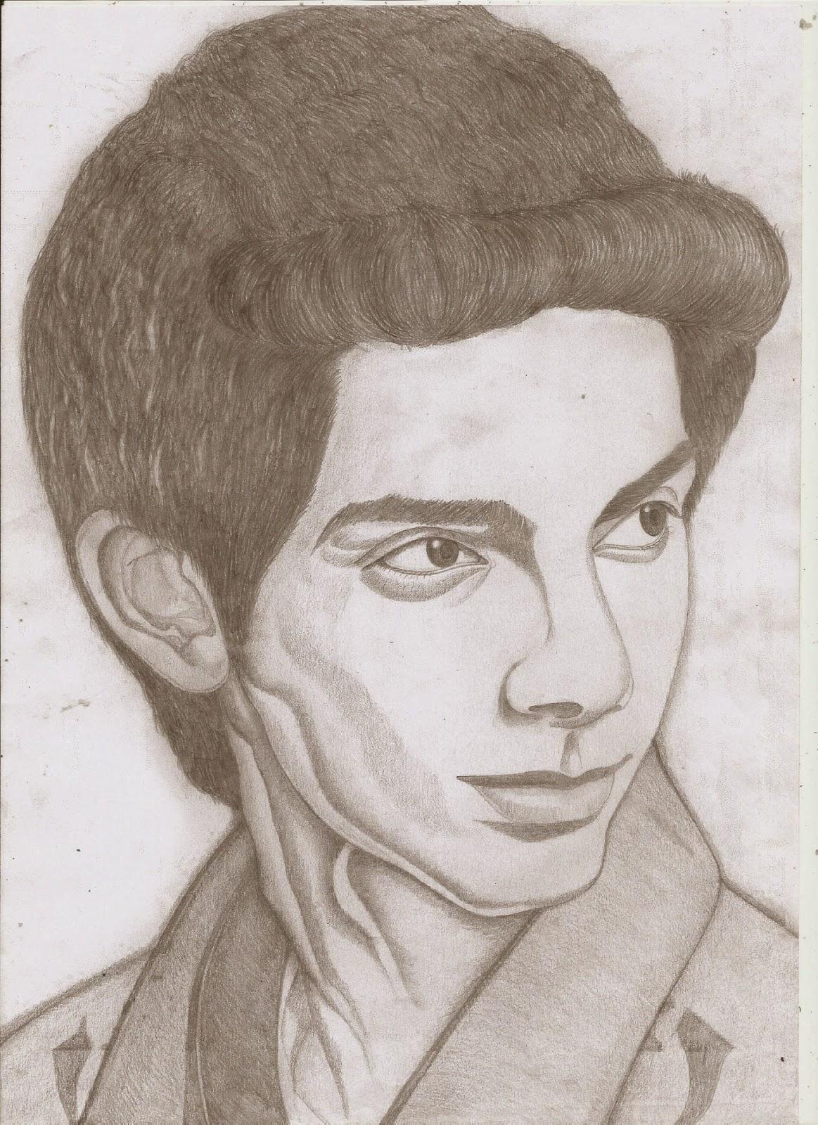 Jackhi pencil drawing anirudh pencil sketch jackhi pencil