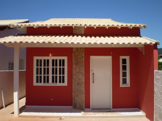 decorada com pedra realçaram essa casa pequena e super charmosa