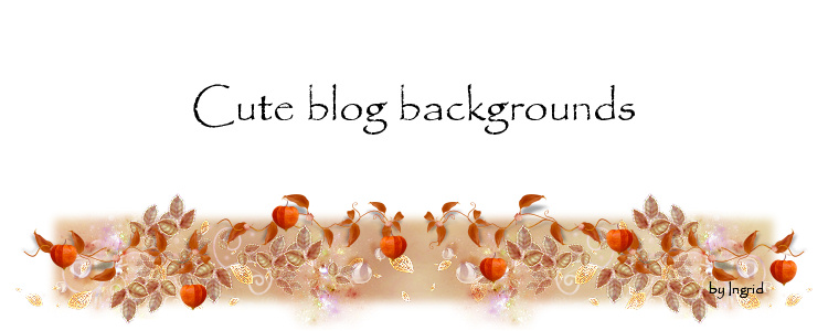 Cute blog backgrounds