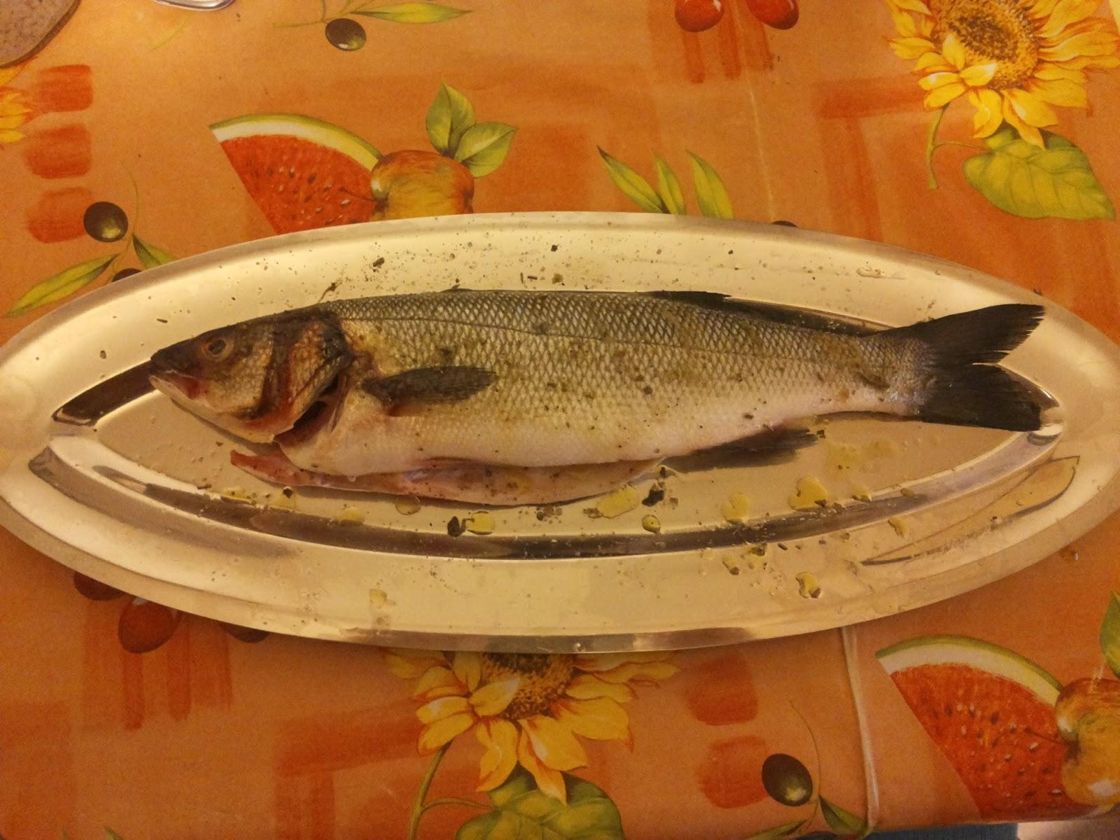 Diario di un electric griller branzino alla griglia per for Cucinare branzino 5 kg