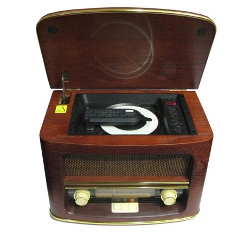 Ретро проигрыватель Camry CR1115 (приемник, CD, USB, MP3, запись)
