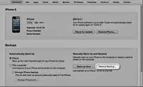 how to backup your iphone to itunes