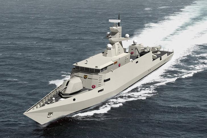Kapal Cepat Rudal 60 Meter Produksi PT PAL