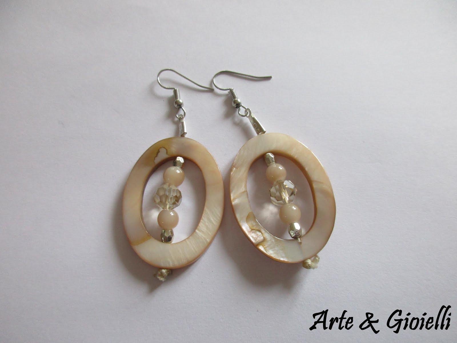 Arte gioielli orecchini con conchiglie e madreperla for Siti cinesi gioielli