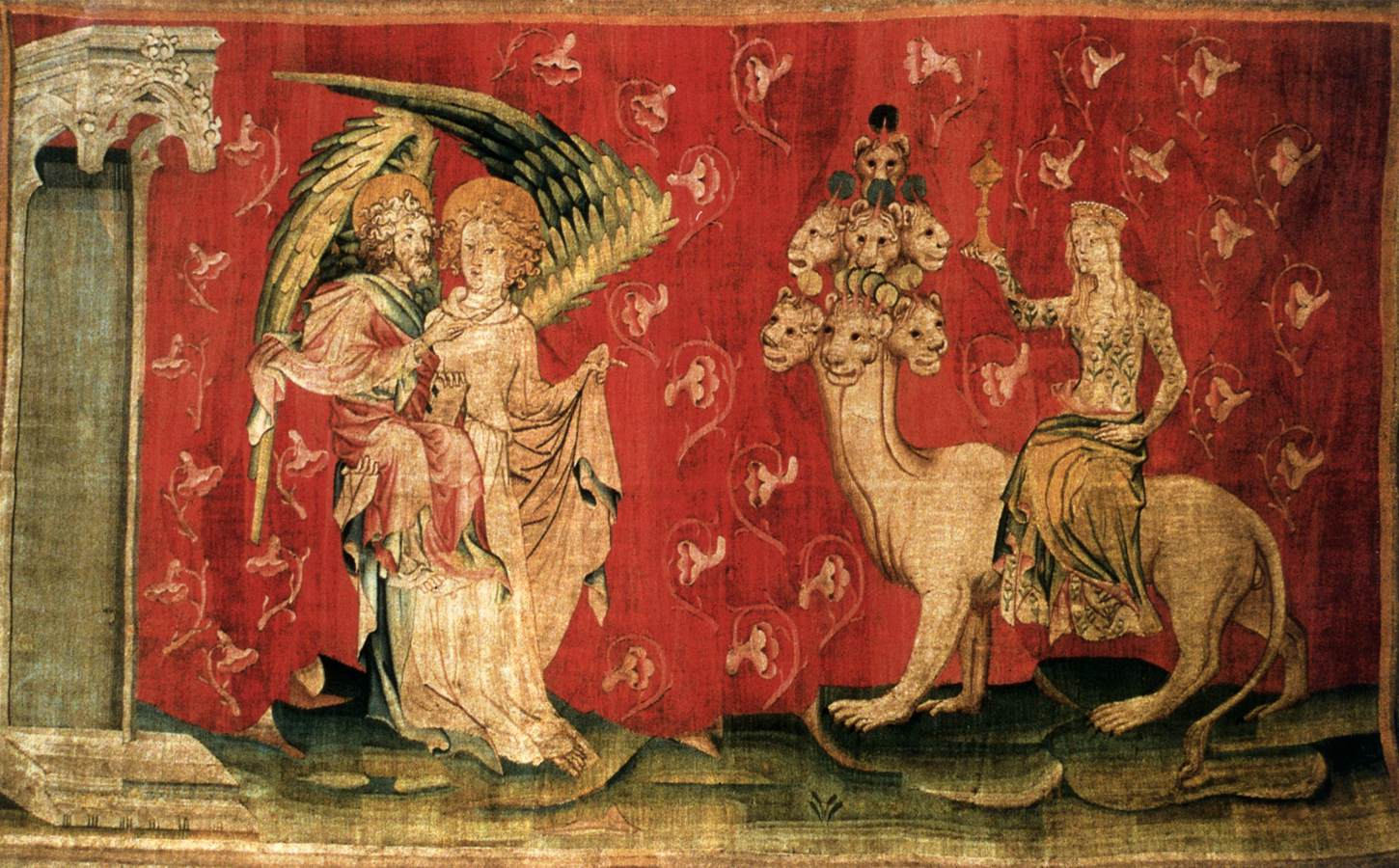 N e e d l e p r i n t the apocalypse tapestry of angers for The tapestry