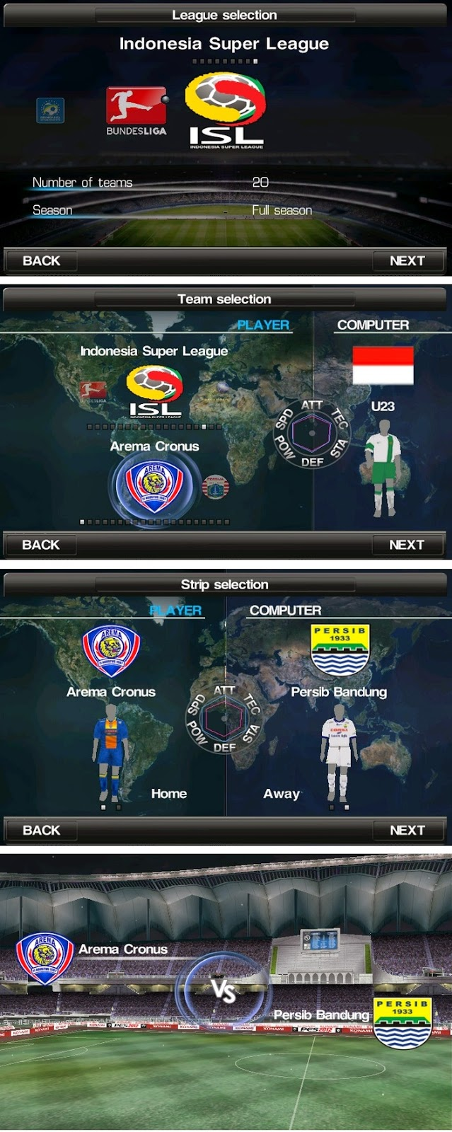 Game PES 2015  Android APK+DATA New Pemain Transfer