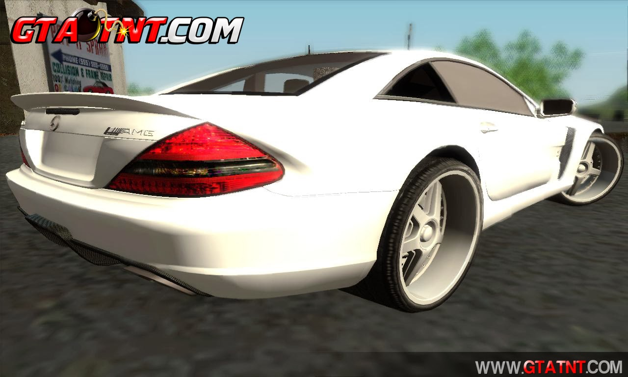 GTA SA - Mercedes-Benz SL65 AMG BS 2009