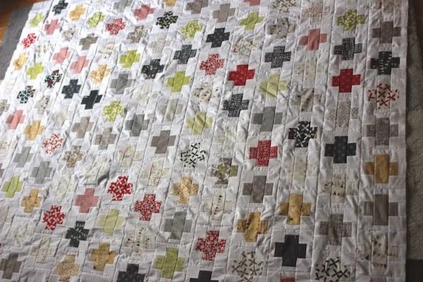 quilt de patchwork colores vivos