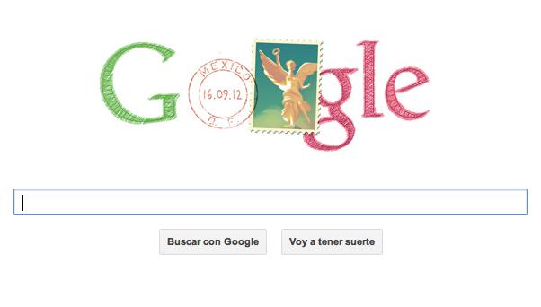 Día de la Independencia de México, Google lo festeja con un doodle