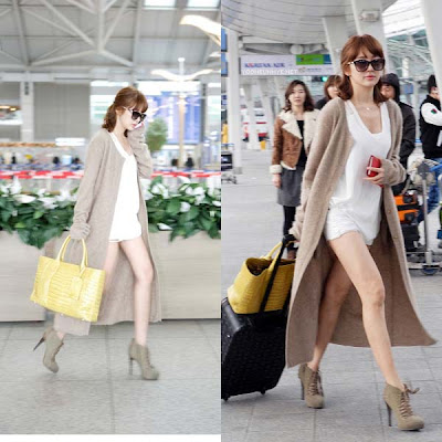 korean celebrity new fashion 2012