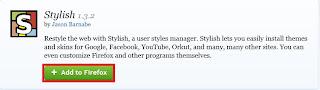 mengganti tema facebook