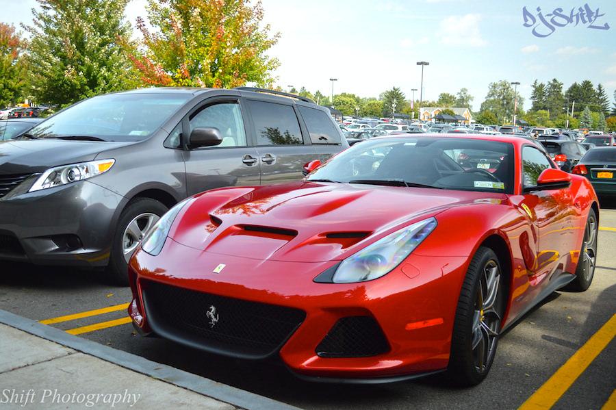 フェラーリF12 SPアメリカ