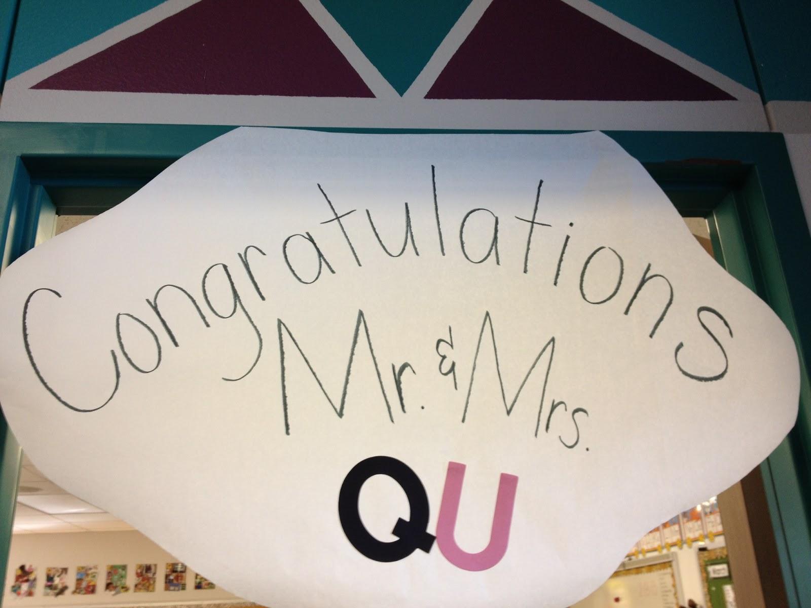 Q & U Wedding Fun!!