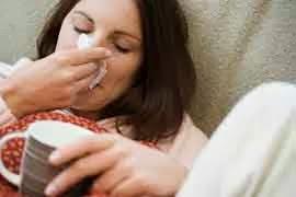mengobati flu