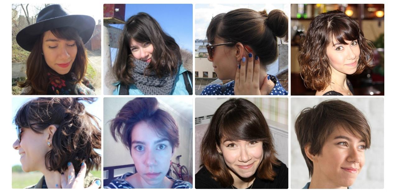 Как подстричь женщину с короткими волосами в домашних условиях 349
