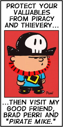 "Check Out My Good Friend Brad Perri and His Comic ""Pirate Mike"""
